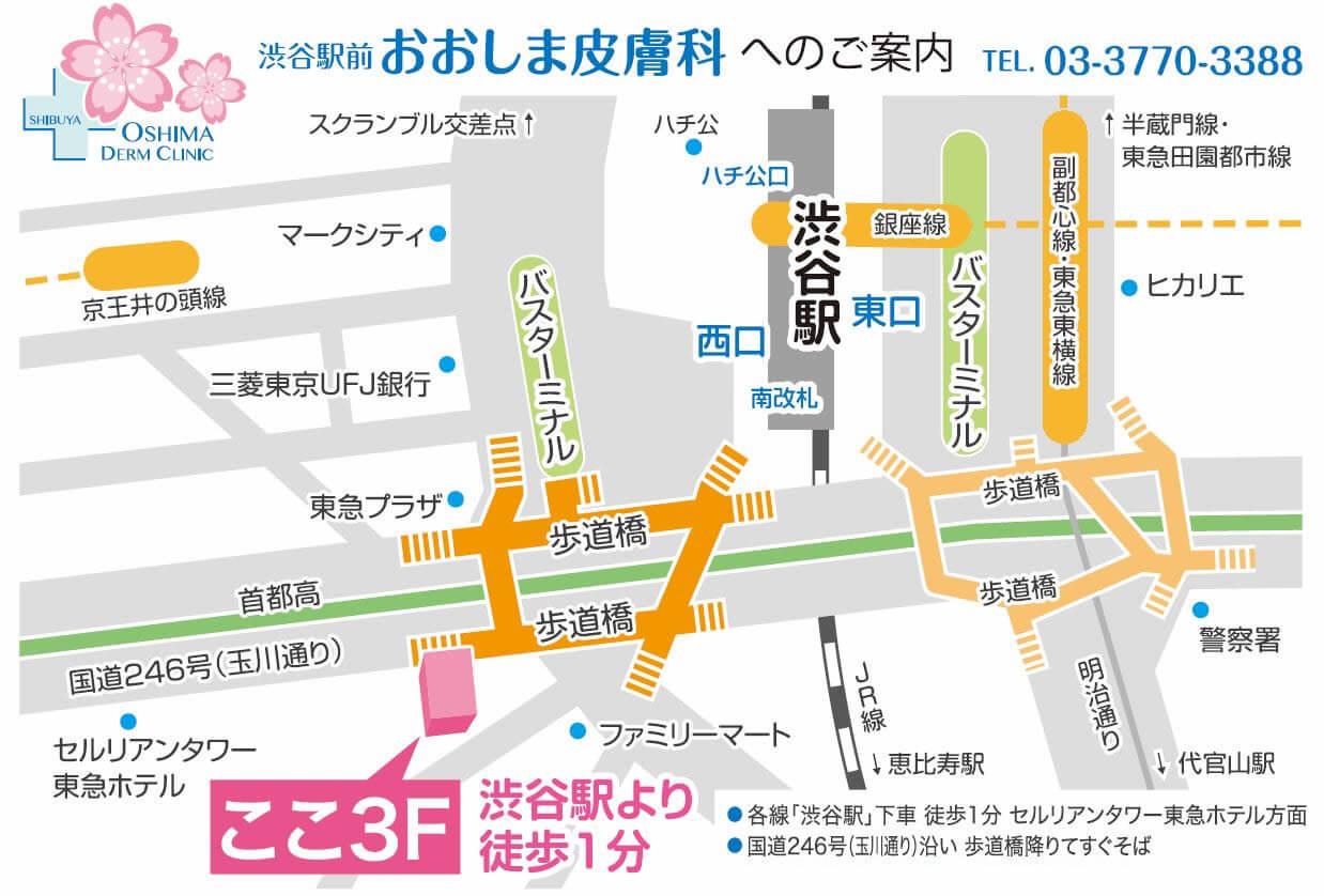 皮膚 科 大島 渋谷駅前おおしま皮膚科 形成外科